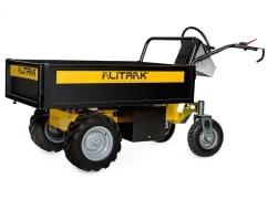 Alitrak Elektrische dumper DT-300L E op 4 wielen, laadvermogen van 300 kg, vlakke laadbak - V-Pro Power Equipment