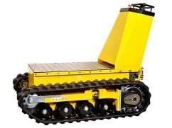 Alitrak Elektrische laadplateau DCT-300 op rupsbanden en een laadvermogen van 450 kg - V-Pro Power Equipment
