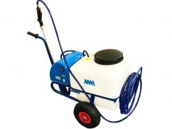 MM Sproeier op wielen – pomp 12 Volt – 50 liter - V-Pro Power Equipment