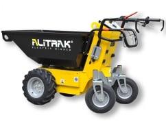 Alitrak Elektrische dumper MT-500 P met 4 wielen en een laadvermogen van 550 kg - V-Pro Power Equipment