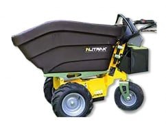 Alitrak Elektrische dumper DT-300E op 4 wielen, laadvermogen van 200 kg, kunstof laadbak - V-Pro Power Equipment