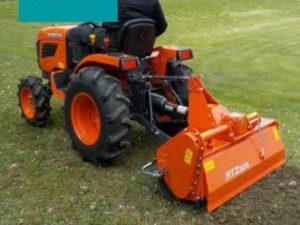 EXCLUSIEF AANBOD – KUBOTA TRACTOR B1121 + FREES RTZ 3011 - V-Pro Power Equipment